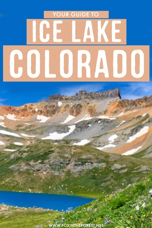 Looking for one of the most beautiful hikes in Colorado? Colorado is a paradise for hikers and nature lovers, but this beautiful hike takes the cake! On this guide, I share everything you need to know to visit Ice Lake Colorado. #Colorado