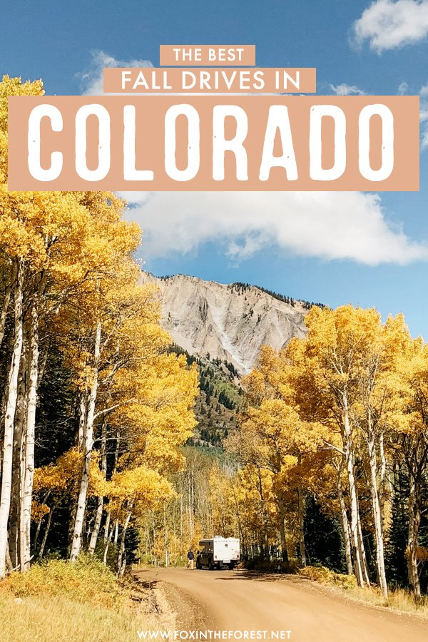 Colorado is one of the best destinations in the USA for fall foliage, and a scenic drive might just be the best place to see fall colors in Colorado! On this post, I share the most epic drives for fall foliage in Colorado you must drive! #Colorado
