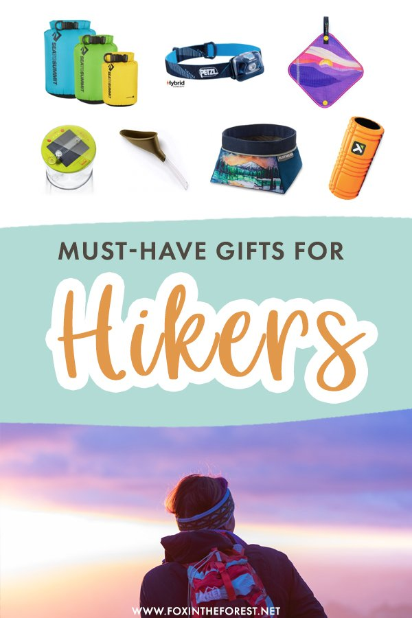 Hiking is a hobby that can sometimes require a lot of gear! If you're wondering what to gift your hiking friend, here is a list of must-have gifts that every hiker will love! On this gift guide for hikers, I share over 41 gift ideas for hikers and outdoorsy people. #Hiking