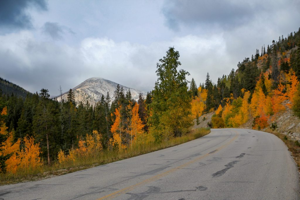 fall drives in Colorado