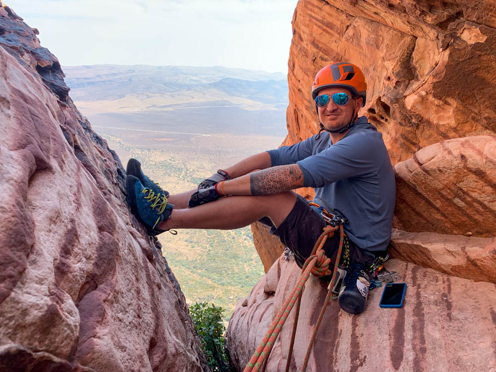 red rock canyon conservation area climbing