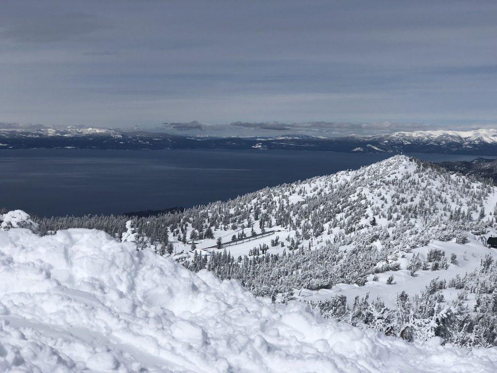 sledding in lake tahoe