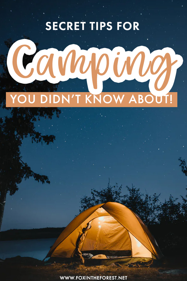 Whether you're a beginner or a seasoned camper, there's always room for new camping tips and hacks! With these camping hacks, you'll get through even the toughest outdoor nights, including cold weather camping and tips for beginners like how to get a good nights rest!