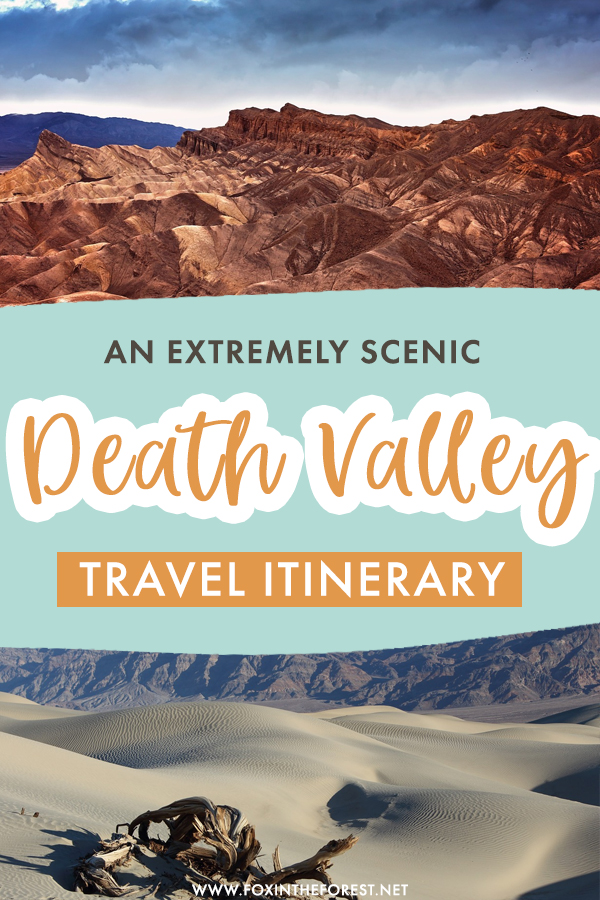 Planning a trip to Death Valley, California soon? If you want to make the most out of your trip, here are some of the most scenic places to visit in Death Valley that you can't miss! #USA #California