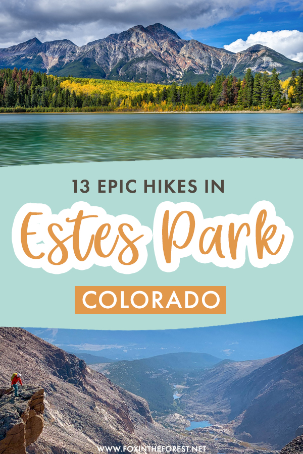 Hiking in Estes Park is an experience like no other. Not only does this part of Colorado boast some of the best hiking trails in Rocky Mountain National Park, but it's home to some of the most exciting trails in Colorado as well! On this guide, I share 13 of the most epic hikes in Estes Park, Colorado that you can't miss. #Colorado