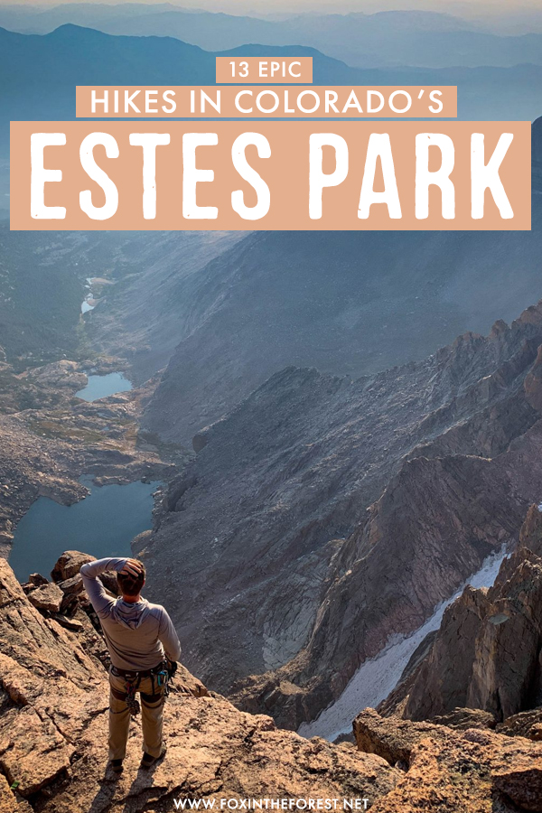 Wondering where to go hiking in Colorado? Estes Park is one of the best Colorado destinations for epic hikes, and I've rounded up the 13 best hiking trails in Estes Park that you can't miss! From hikes you can combine with a scenic drive to some of the best hiking in Rocky Mountain National Park, these are the can't miss hikes in Estes Park you'll fall head over heels in love with! #Colorado