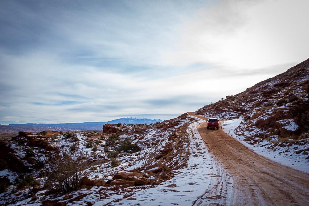 scenic drive utah moab