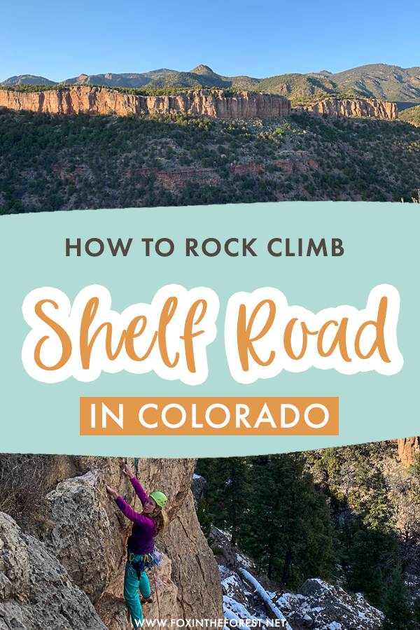 Shelf Road is one of the most fantastic rock climbing spots in Colorado in winter and spring. This outdoor destination in Colorado has so much to offer for climbing. Here's what to know about rock climbing in Shelf Road.