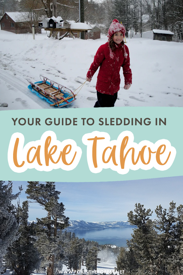 Sledding and tubing are two of the best winter activities in Lake Tahoe. On this post, I share everything you need to know about sledding in Lake Tahoe in the winter, including tips on the best dog sledding activities, snow tubing, and more!