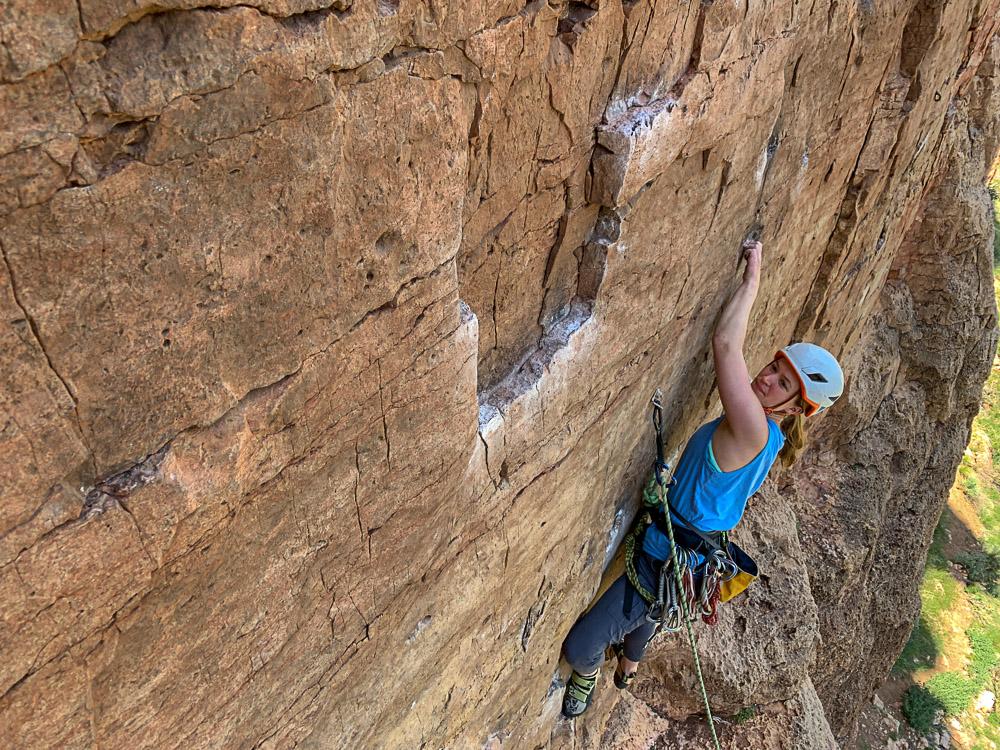 rock climbing shelf road