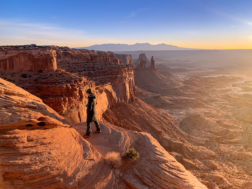 Mesa Arch, one of the best hikes in Canyonlands