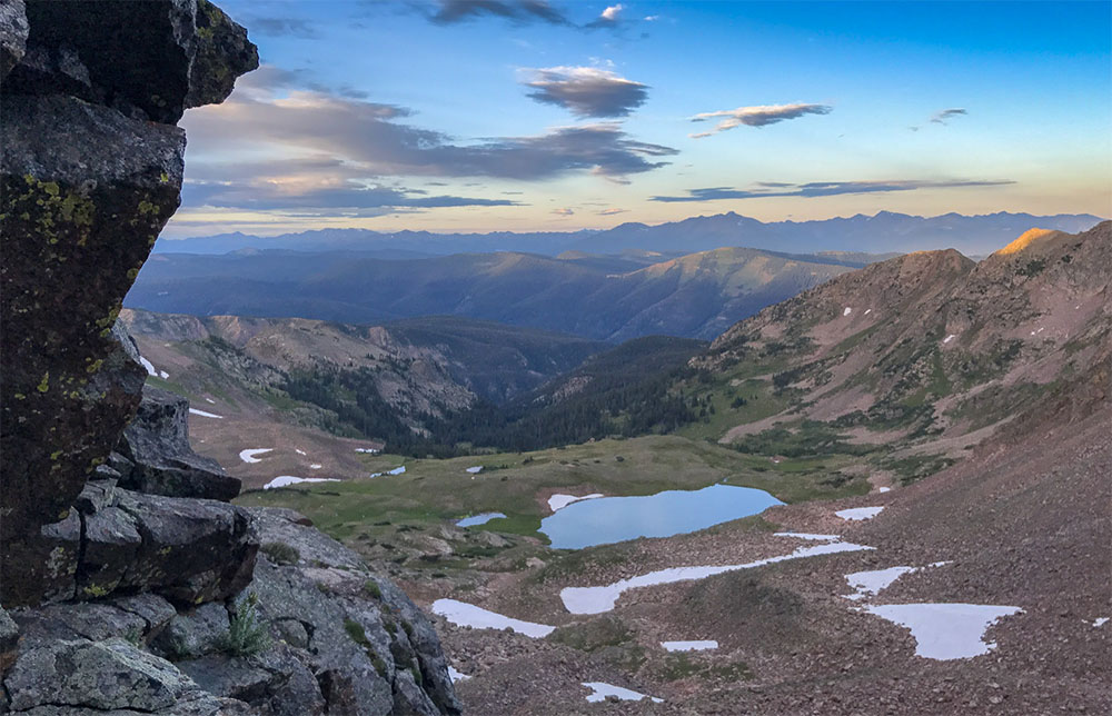 The Gore Range offers some of the best Vail hikes in Colorado