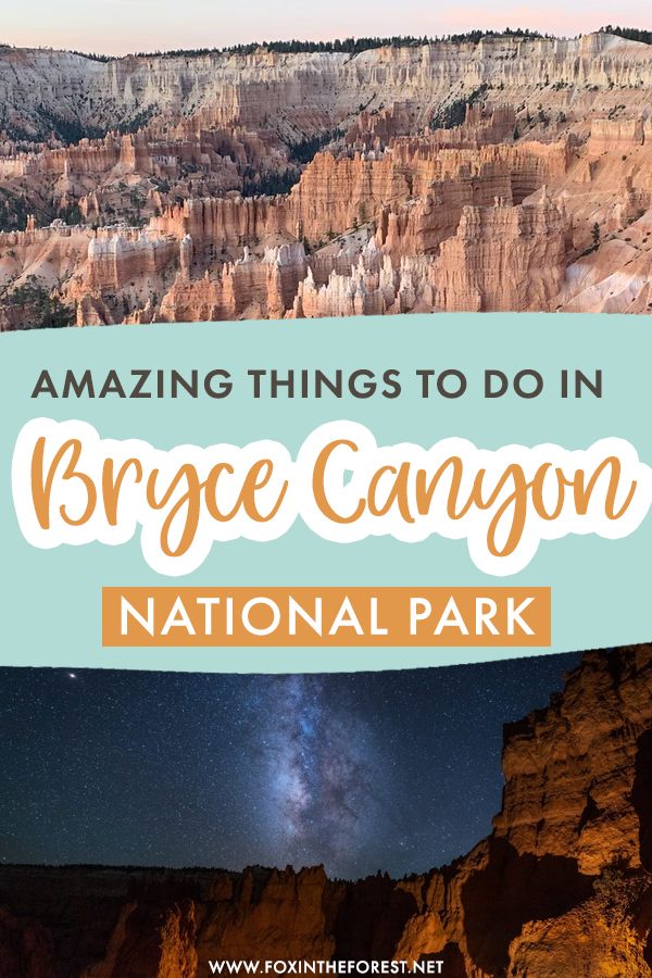 Planning a trip to Bryce Canyon? If you're on the lookout for amazing things to do, attractions, and road trips to take around Bryce Canyon, this post is for you! On this guide, I share some of my favorite activities and things to do in Bryce Canyon that you can't miss!
