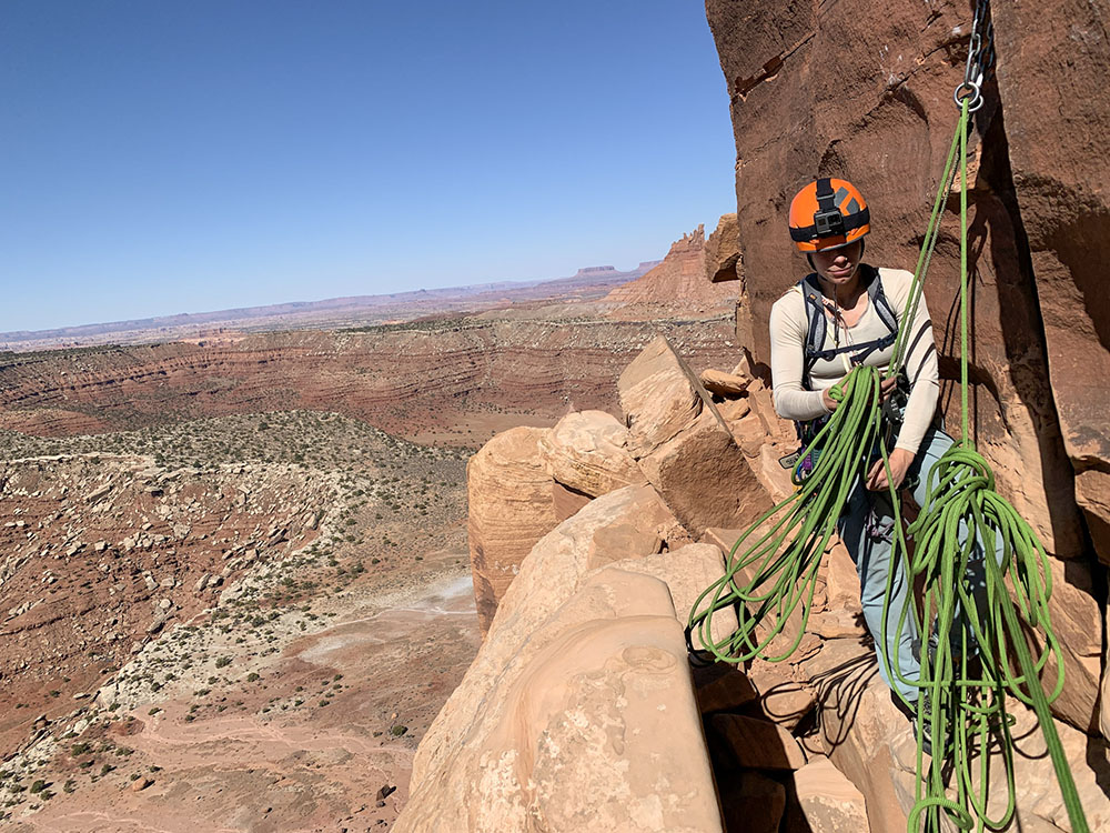 Moab Climbing is not for the faint of heart