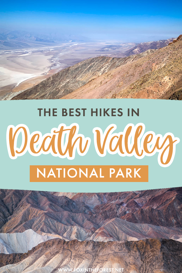 Planning a trip to Death Valley National Park? Death Valley is one of the most alluring national parks in the USA, and it has hiking trails to match! Here are the most scenic and beautiful hikes in Death Valley national park for your itinerary!