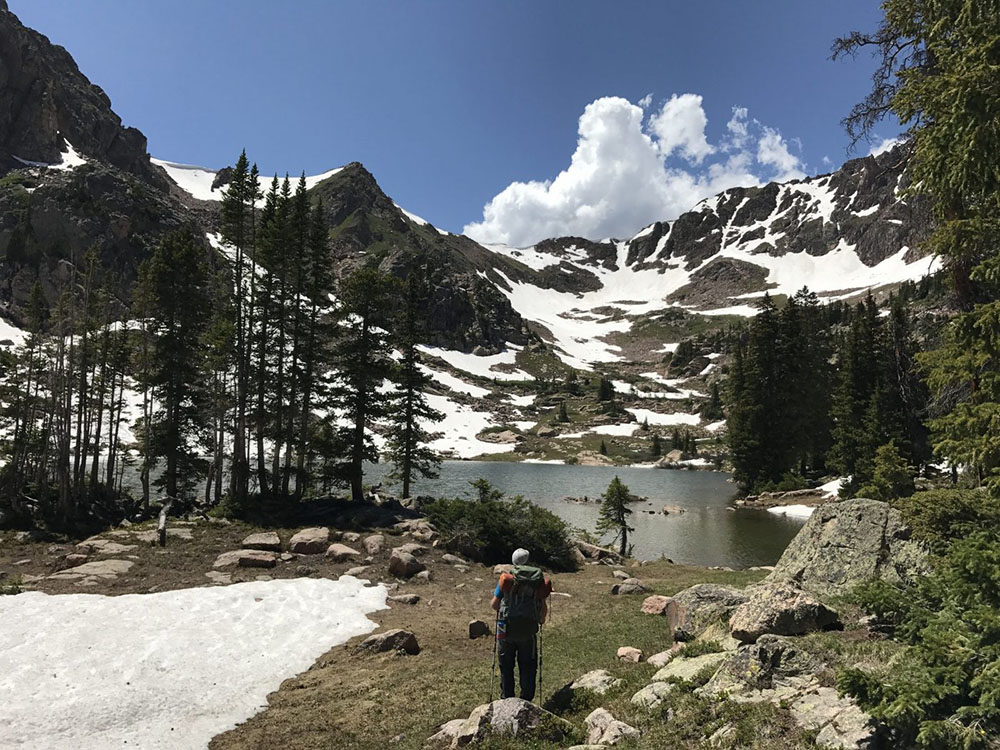 Gore Lake is the ultimate hiking destination in Vail, Colorado
