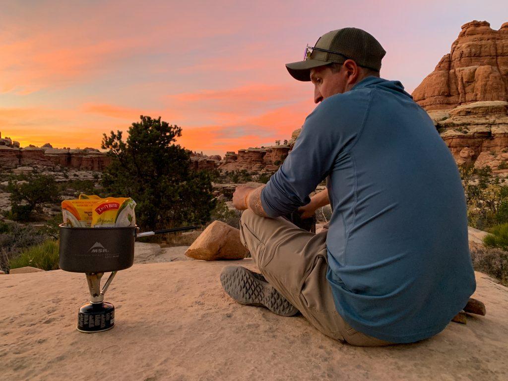 backpacking canyonlands