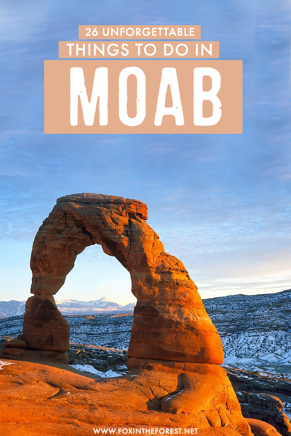 If you're planning a trip to Moab soon, you're probably wondering what to do in Moab. On this post, I share 26 of the coolest things to do in Moab, including hikes, drives, national parks, cool attractions, and so much more! This is the ultimate guide to Moab and the only itinerary you could ever need!