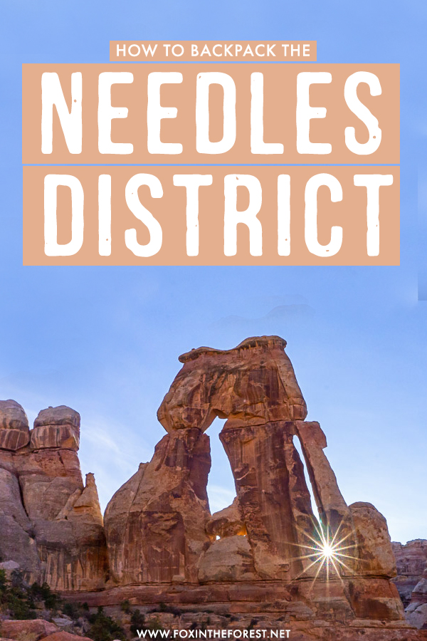 Wondering how to backpack Canyonlands without the crowds? The Needles District in Canyonlands National Park is ideal for backpacking, incredible hikes, and outdoor adventures. Here's the ultimate guide to backpacking The Needles District in Canyonlands National Park.