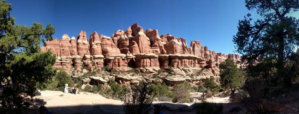 Elephant Canyon backpacking