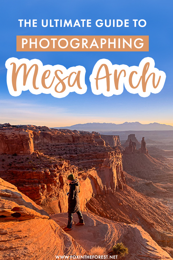 Visiting Canyonlands National Park in Utah and wondering how to take epic photographs of Mesa Arch at sunrise? Whether you're an outdoor photographer or just want to take some amazing Instagram shots of Mesa Arch, here are my top photography tips to take amazing pictures of Mesa Arch.