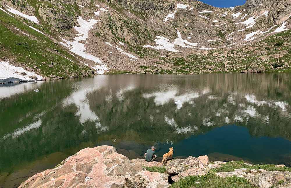 Lakes and mountains are just some of the views that Vail offers hikers.