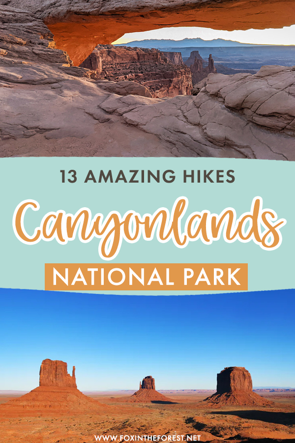 Visiting Canyonlands National Park and wondering what to do? If hiking in Moab, Utah is on your bucket list, these are the most amazing hikes in Canyonlands National Park that you can't miss!