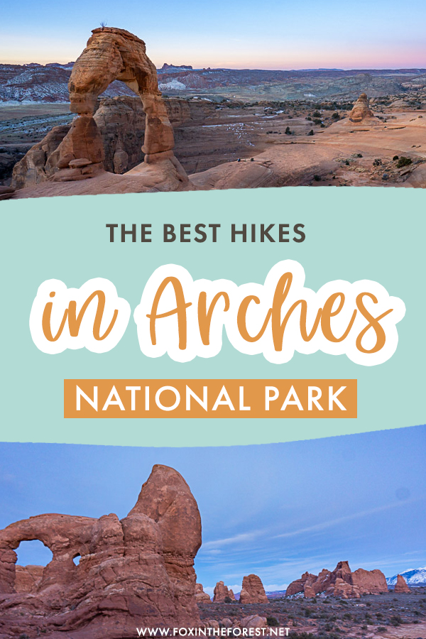 Arches National Park is one of the best places to visit in Moab if you love hiking. If you're currently wondering what to do in Arches and the best activities in Moab, here are the best hikes in Arches National Park that you can't miss!