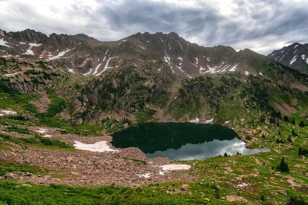 Pitkin Lake in the Eagles Nest Wilderness.