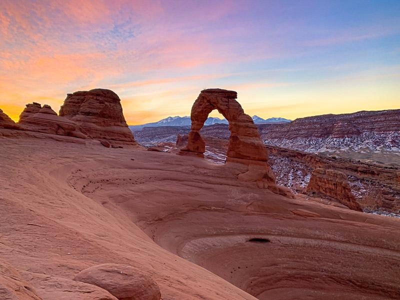 arches vs canyonlands national park