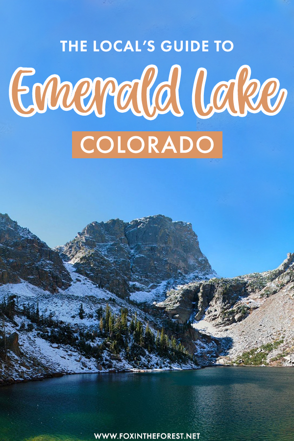 Emerald Lake is one of the best hikes in Rocky Mountain National Park and Colorado. If you're wondering how to make the most out of the Emerald Lake trail, here is everything you need to know about this beautiful alpine lake hike in Colorado.