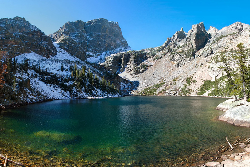 Emerald Lake in Colorado