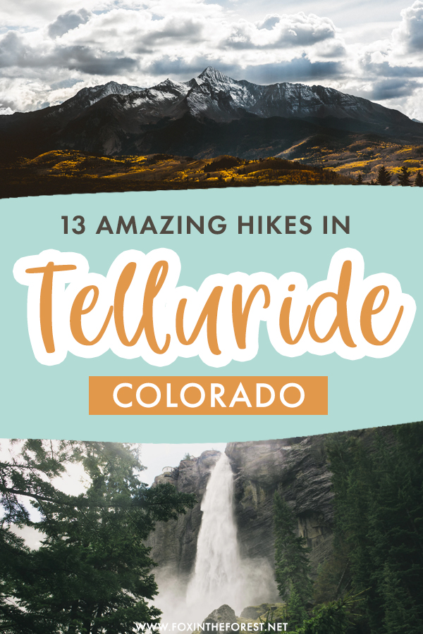 Hiking in Telluride should be on everyone's bucket list. If you're planning your Telluride itinerary and want to hit as many trails as possible, these are the best hikes in Telluride, Colorado that you cannot miss while traveling in this beautiful Colorado mountain town.