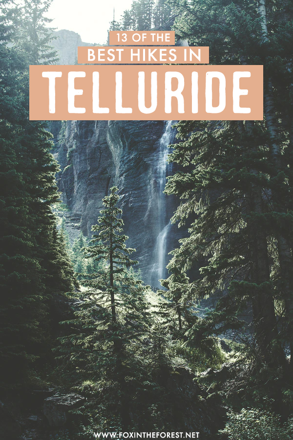 Wondering what are the best hikes in Telluride, Colorado? If you're headed to Colorado's best hiking destination and unsure what to pack into your Telluride itinerary, these are 13 of the best hikes in Telluride that absolutely need to be in your itinerary.