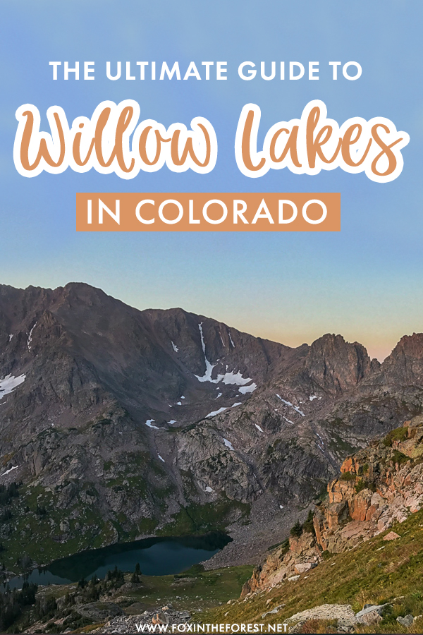 Looking for the best hikes in Colorado? If you're planning to hike the Gore Range, the Willow Lakes hike is one of the best hikes in Colorado for insane vistas! Here's the ultimate guide to Willow Lakes, one of the best things to do in Colorado for adventure and outdoor lovers.