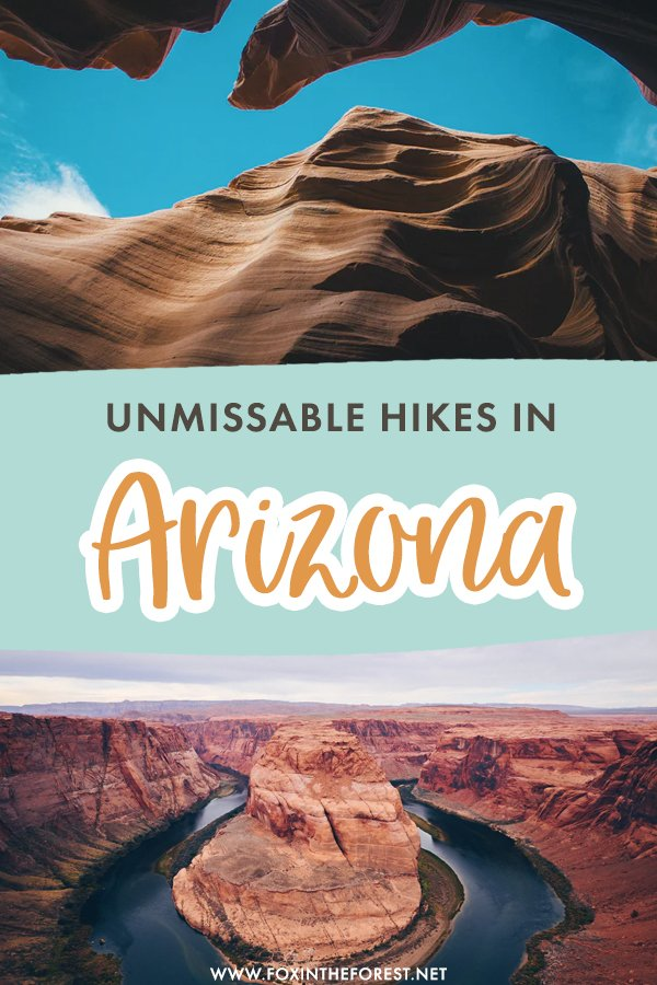 Looking for the best hikes in Arizona? Hiking in Arizona is a bucket list item for many, but with so many trails to choose from, it's not easy to pick your destination. Here is a curated list of the best hikes in Arizona for the ultimate bucket list!