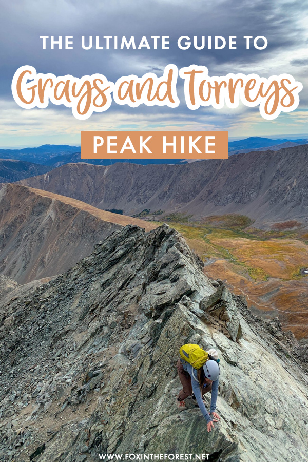 Grays and Torreys are two of the most classic Colorado 14ers. They are also two of the easiest Colorado 14ers. If you're thinking of hiking Grays and Torreys, here's the ultimate guide to help you do it!