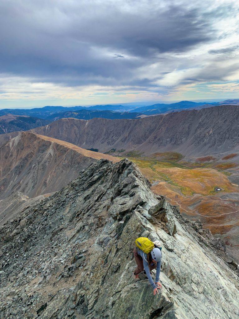 Kelso ridge Torreys peak