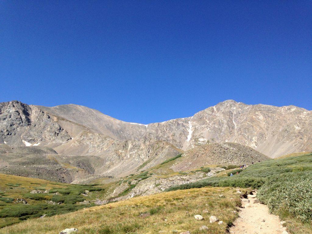 Grays peak trail