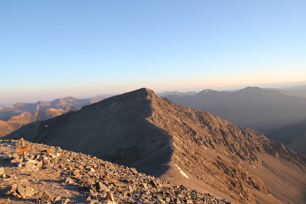 grays and torreys peak trail