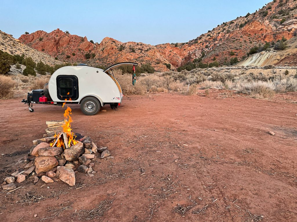planning a camping road trip