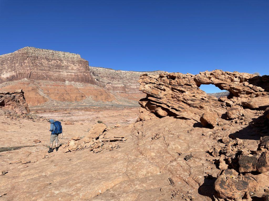 hiking reflection canyon