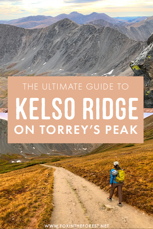 The ultimate guide to scrambling Kelso Ridge on Torrey's Peak in Colorado