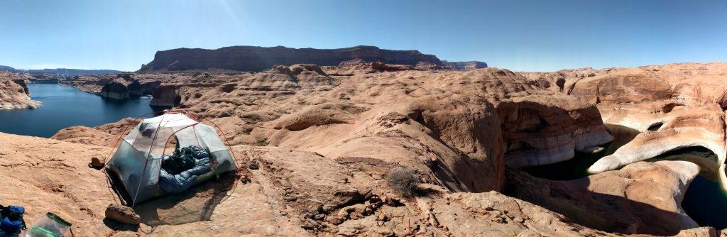 reflection canyon campsites