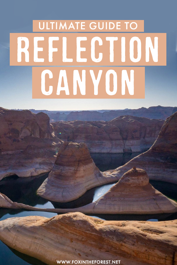 Reflection Canyon is one of the best things to do in Utah. If you're visiting Glen Canyon Recreation Area and looking to do this epic hike, here's everything you need to know about Reflection Canyon in Utah!