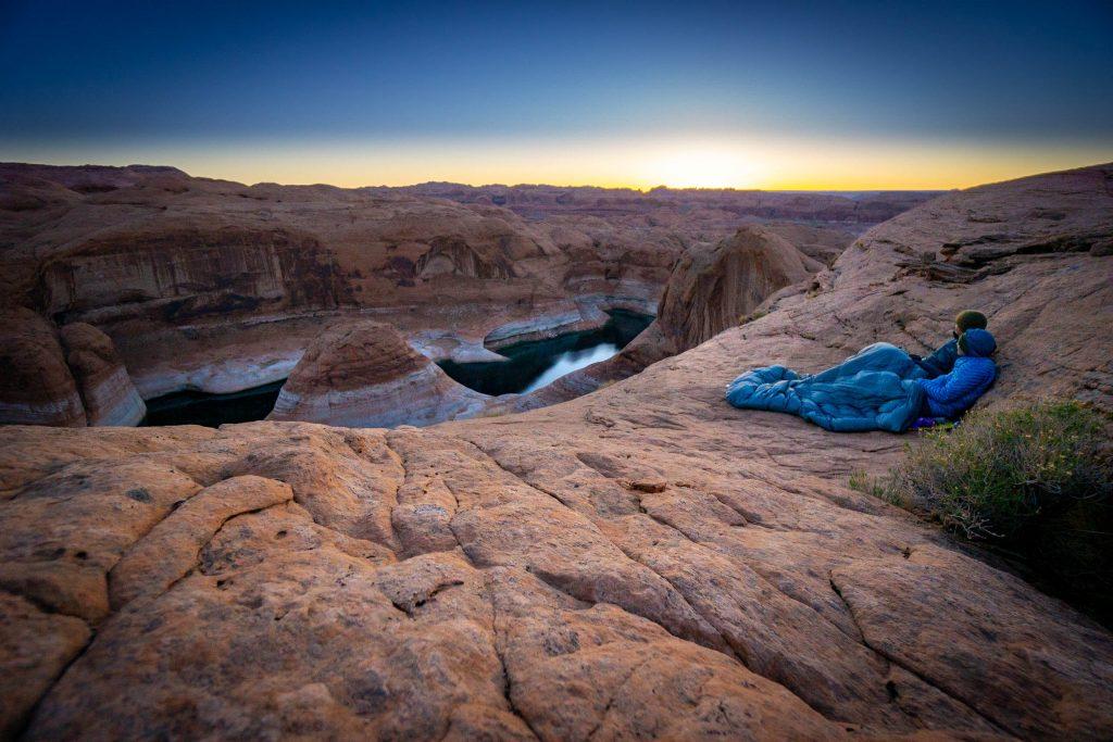 backpacking reflection canyon