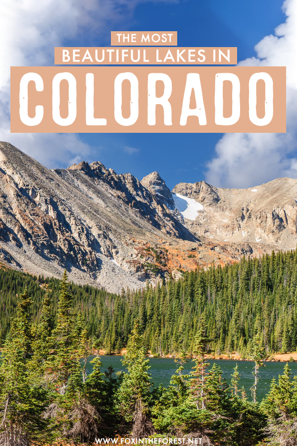 Wondering where to find the most beautiful lakes in Colorado? Some of the best Colorado destinations are in nature, and we've got plenty of alpine lakes to brag about! Here are some of the most beautiful Colorado lakes you have to check out!