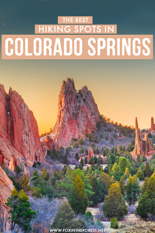 Known as one of the best hiking destinations in Colorado, Colorado Springs offers a huge array of wonderful hiking trails. If you're headed to Colorado Springs, here are the best hikes and things to do that you can't miss!