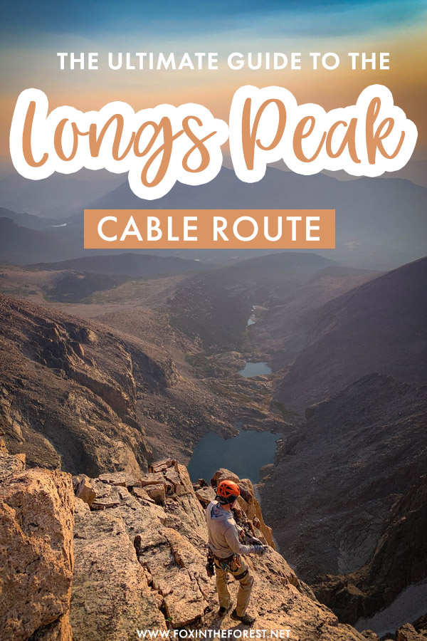 Here's how to climb the Longs Peak Cables Route. Known as the fastest way to the top the Longs Peak Cable Route is a fun romp to the top.