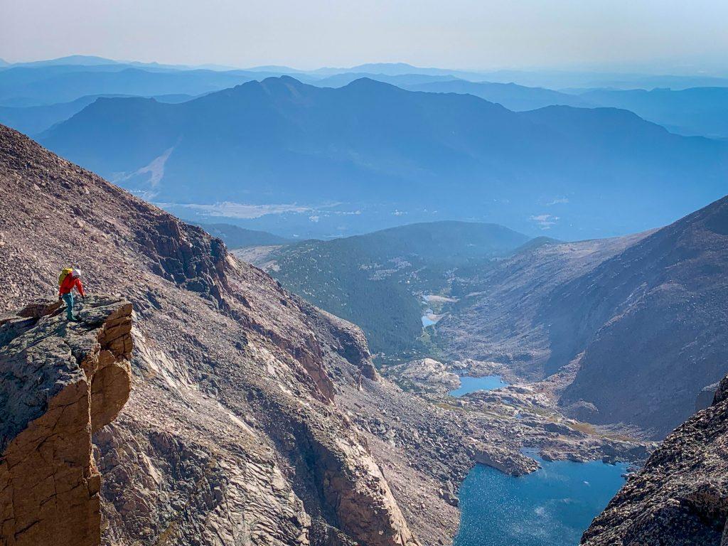 longs peak chasm view